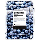 Farmskin - Masker - Superfood For Skin Strengthening Sheet Mask Blueberry