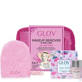 GLOV - Make-up remover glove - Pink Presentset