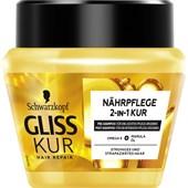 Gliss Kur - Hair treatment - Näringsrik 2-i-1-kur