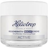 Heliotrop - Active - Regenererande nattkräm