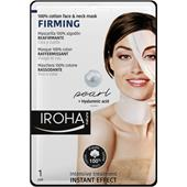 Iroha - Ansiktsvård - Firming 100% Cotton Face & Neck Mask