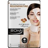 Iroha - Ansiktsvård - Regenerating 100% Cotton Face & Neck Mask