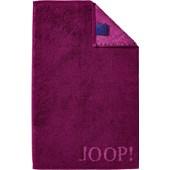 JOOP! - Classic Doubleface - Gästhandduk Cassis