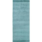 JOOP! - Classic Stripes - Bastuhandduk turkos