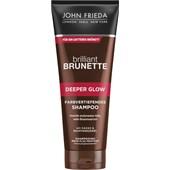 John Frieda - Brilliant Brunette - Deeper Glow Färgförstärkande Shampoo