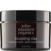John Masters Organics - Styling & Finish - Sculpting Clay Medium Hold
