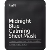 Klairs - Masker - Midnight Blue Calming Sheet Mask