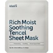 Klairs - Masker - Rich Moist Soothing Tencel Sheet Mask