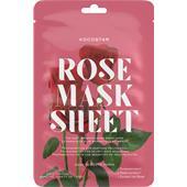 Kocostar - Ansiktsmasker - Rose Mask Sheet
