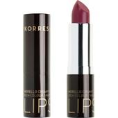 Korres - Läppar - Morello Creamy Lipstick
