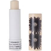 Korres - Läppvård - Sunflower Sun Protect Lip Balm SPF 20