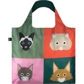 LOQI - Väskor - Väska Stephen Cheetham Cats