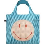 LOQI - Väskor - Väska Smiley Geometric Recycled