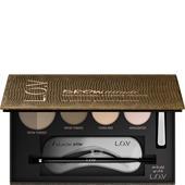 L.O.V - Ögonbryn - Browttitude Professional Eyebrow Palette