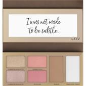 L.O.V - Foundation - The Shape x Glow Face Palette