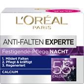 L'Oréal Paris - Age Perfect - Anti-rynk-expert för åtstramande hudvård Natt kalcium 55+