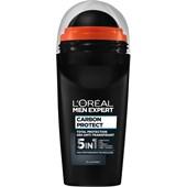 L'Oréal Paris Men Expert - Deodoranter - Carbon Protect Deodorant Roll-On 4in1