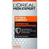 L'Oréal Paris Men Expert - Ansiktsvård - Hydra Energy Comfort Max fuktkräm