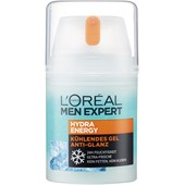 L'Oréal Paris Men Expert - Ansiktsvård - Hydra Energy Kylande gel Anti-Glans