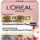 L'Oréal Paris - Dag och natt - Golden Age stimulerande kylande nattkräm