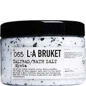 La Bruket - Kurbad och badsalter - No. 065 Bath Salt Mint