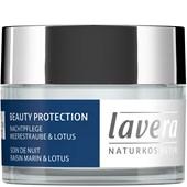 Lavera - Nattkrämer - Havsdruva & Lotus Havsdruva & Lotus