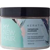 MY NEW HAIR - Masker - Keratin hårinpackning