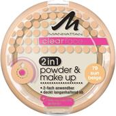 Manhattan - Ansikte - Clearface 2in1 Powder & Make Up
