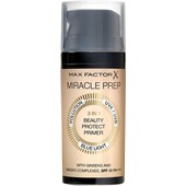 Max Factor - Ansikte - Miracle Prep 3 in 1 Beauty Protect Primer