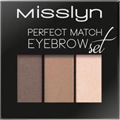 Misslyn - Ögonbryn - Perfect Match Eyebrow Set
