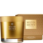Molton Brown - Candles - Mesmering Oudh Accord & Gold Three Wick Candle