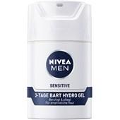 Nivea - Ansiktsvård - Nivea Men Sensitive Hydro Gel för skägg som håller i 3 dagar