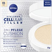 Nivea - Day Care - Tonad flytande kudde  Hyaluron Cellular Filler 3-in-1 Vård Cushion