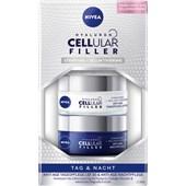Nivea - Day Care - Hyaluron Cellular Filler dag- och nattkräm set
