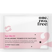 One.two.free! - Eye care - Hyaluronic Power Eye Patches