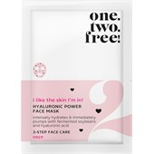 One.two.free! - Facial care - Hyaluronic Power Face Mask