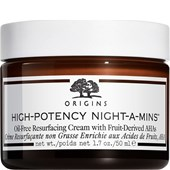 Origins - Anti-age produkter - High-Potency Night-A-Mins Oilfree Resurfacing Cream With Fruit-Derived AHAs