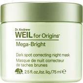 Origins - Masker - Dr. Andrew Weil for Origins Mega-Bright Dark Spot Correcting Night Mask