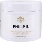 Philip B - Treatment - Peppermint Avocado Scalp Scrub