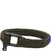 Pig & Hen - Rope Bracelets - Army | Black Gorgeous George