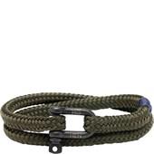 Pig & Hen - Rope Bracelets - Army | Black Salty Steve