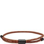 Pig & Hen - Rope Bracelets - Navy-Maple Orange | Black Little Lewis