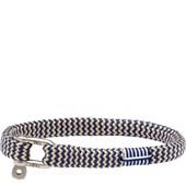 Pig & Hen - Rope Bracelets - Navy-Sand | Silver Vicious Vik