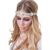 Pink Pewter - Hårsmycken - Kelli White/Ab Crystal