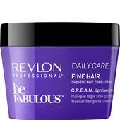 Revlon Professional - Be Fabulous - Daily Care Fine Hair C.R.E.A.M. Lightweight Mask