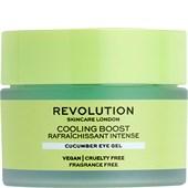 Revolution Skincare - Eye care - Cooling Boost Cucumber Eye Gel