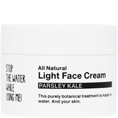 STOP THE WATER WHILE USING ME! - Ansiktsvård - Parsley Kale Light Face Cream