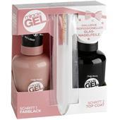 Sally Hansen - Miracle Gel - Miracle Gel Duo Pack + nagelfil