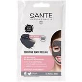 Sante Naturkosmetik - Facial care - Sensitive Black Peeling