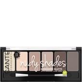 Sante Naturkosmetik - Eye Shadow - Eyeshadow Palette Nude Shades